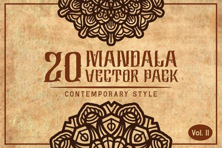 Mandala (Contemporary Style) Vol. II Font