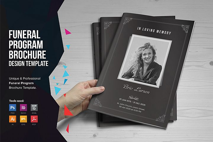 Funeral Program A5 Brochure v1