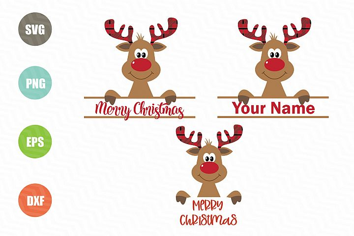 Christmas Reindeer SVG Designs