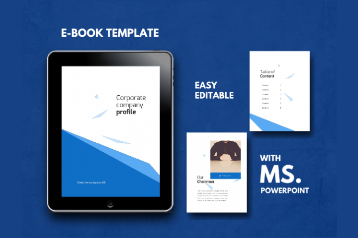 Company eBook Easy Editable Using Ms PowerPoint