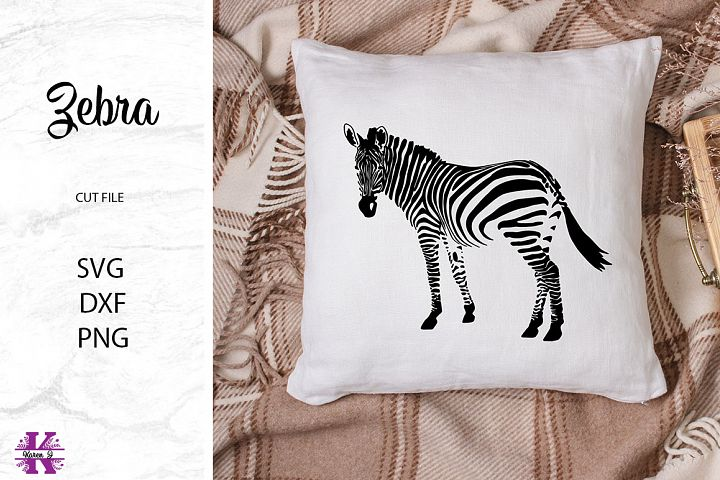 Zebra SVG Cut File for Crafters