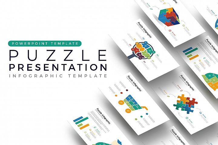 Puzzle Presentation - Infographic Template