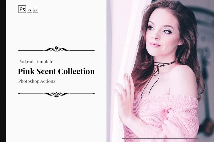 Neo Pink Scent Color Grading photoshop actions