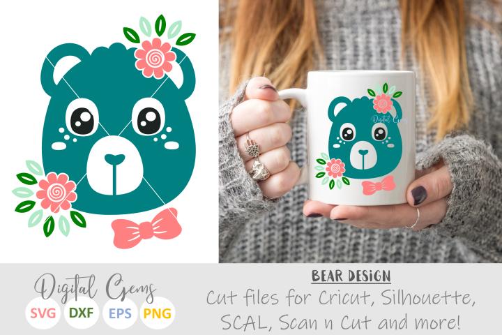 Bear SVG / EPS / DXF Files