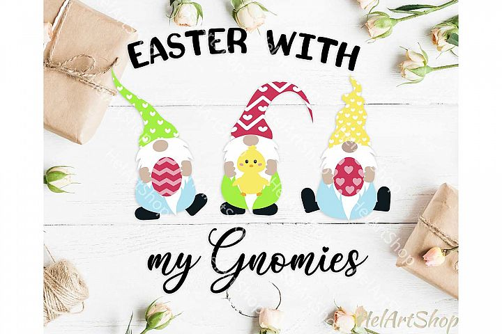 Easter Gnome svg, Gnomes svg, Easter with my gnomies