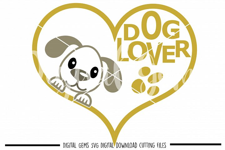 Dog Lover SVG / PNG / EPS / DXF Files
