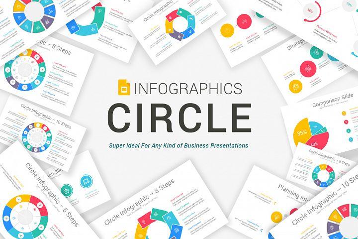 Google Slides Circle Infographic Pack
