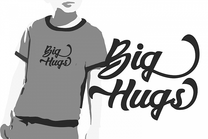 Big Hungs Svg, Saying Clipart, Saying Vector Art, Love Svg