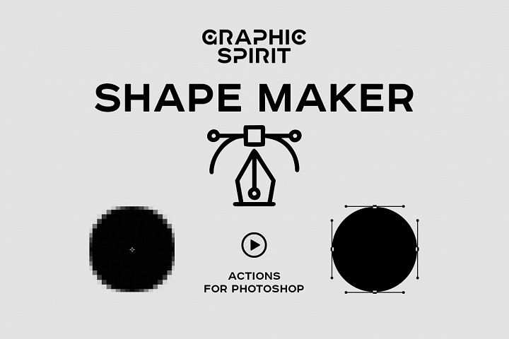 Path & Shape Maker for Photoshop example