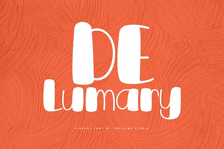 DeLumary Font - Intro Sale!
