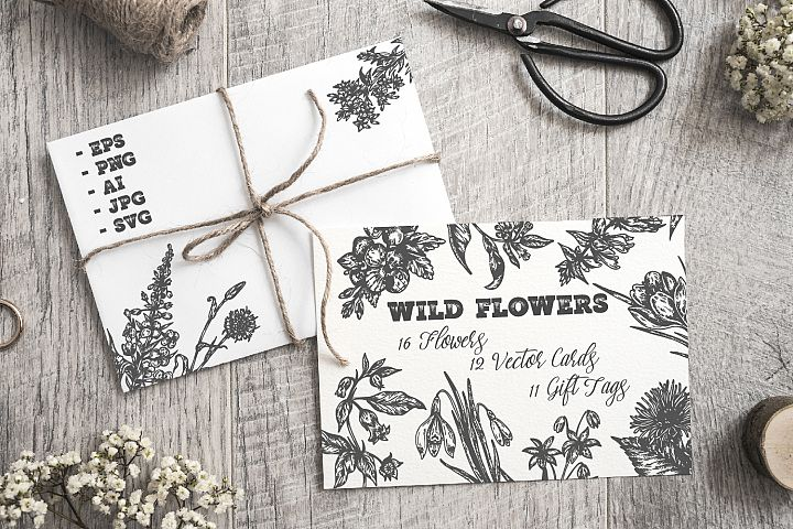 Wild Flowers Collection