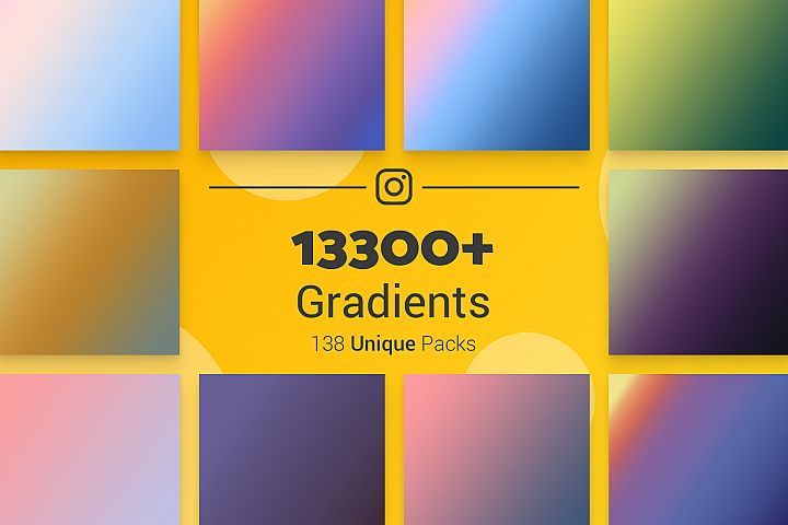 13300 Photoshop Gradients