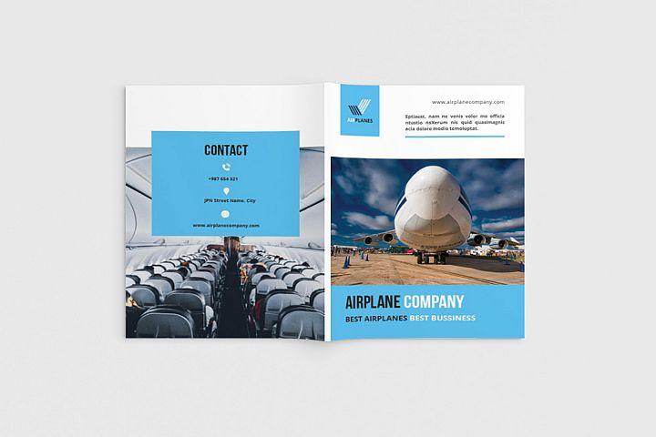Airplane Cosy Brochure