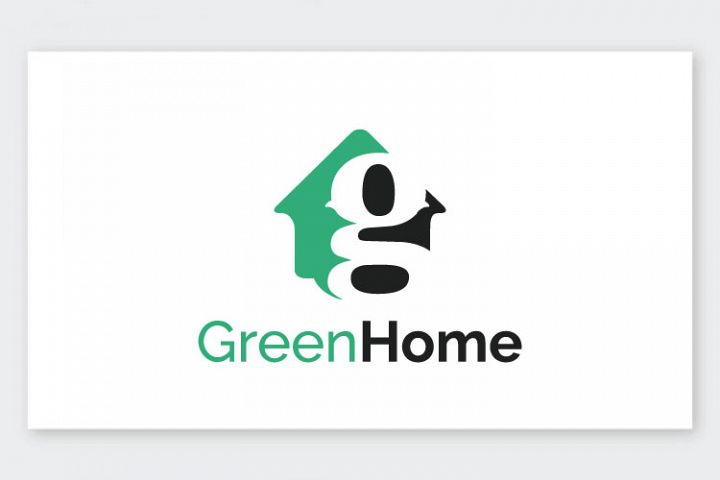 Green Home Letter G Logo