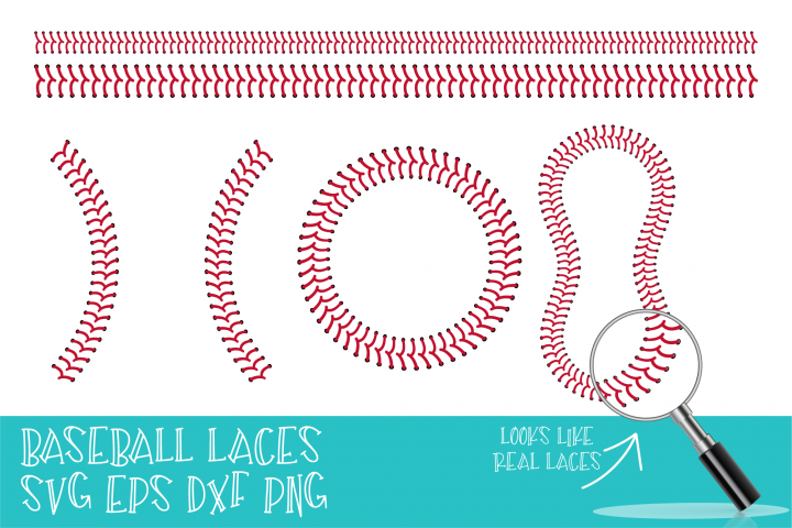 Baseball, SVG, Baseball Stitch, SVG files for Cricut