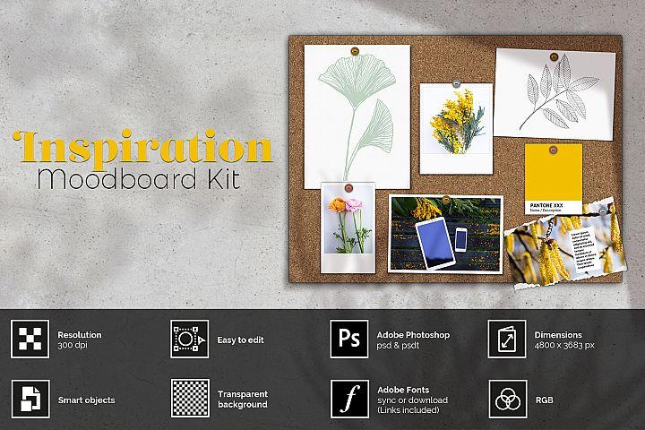 Inspiration - Moodboard kit Scene Creator