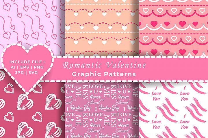 Valentines Romantic Patterns