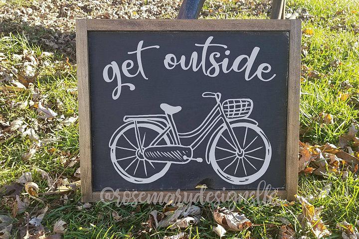 Get Outside - SVG