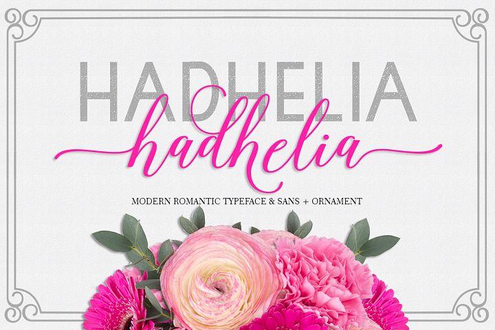 Hadhelia Script, Sans, Ornament