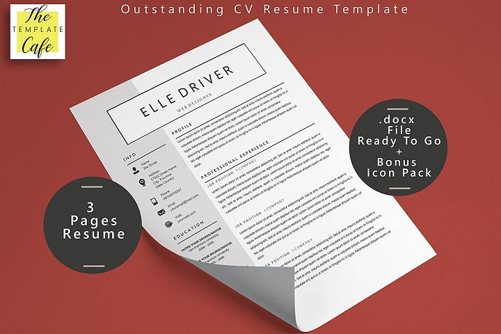 Simple Elegant MS Word Resume Template