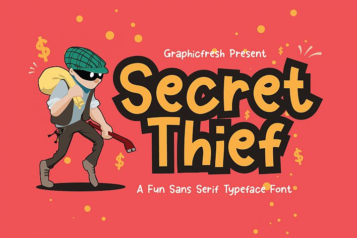 Secret Thief - A Cute Sans Font