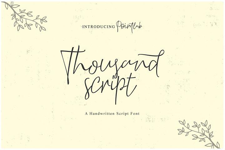 Thousand Script