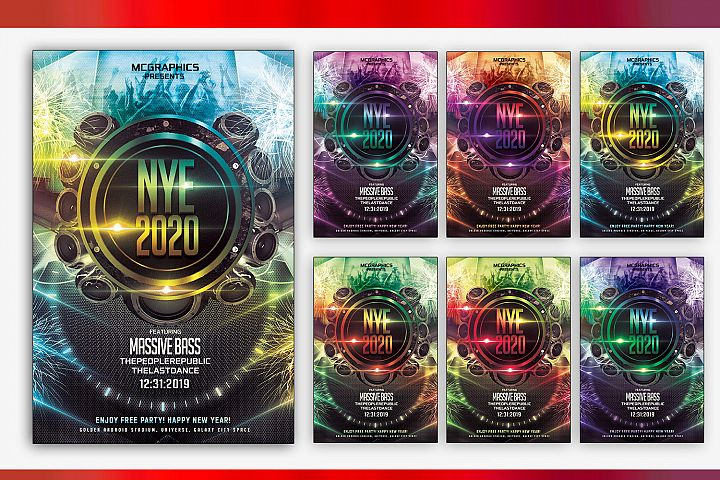 NYE Massive Bass 2020