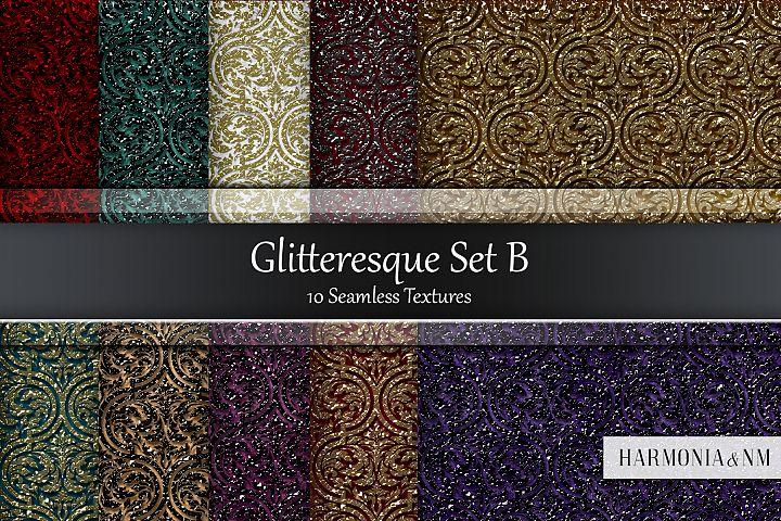 Glitteresque Damask Set B 10 Seamless Textures