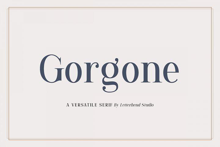 Gorgone - A Versatile Serif