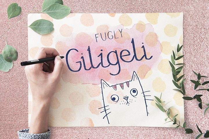 Fugly Giligeli Font