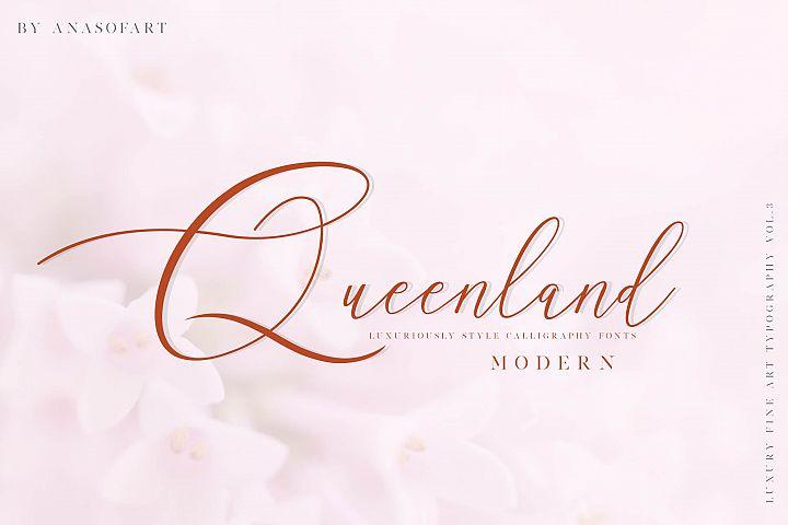 queenland font