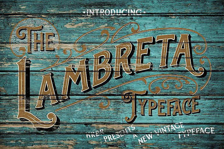 The Lambreta Font Duo