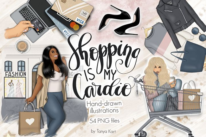 Shopping Clipart & Patterns