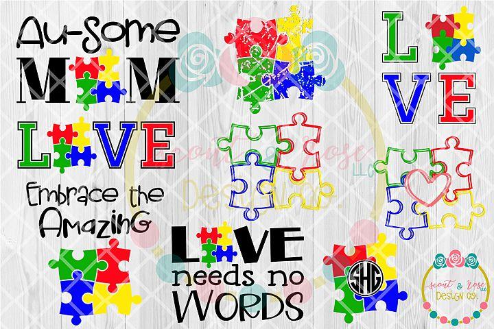 Autism Design Bundle - SVG DXF PNG
