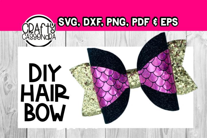 Hair bow svg - Large wrap file - diy hair bows