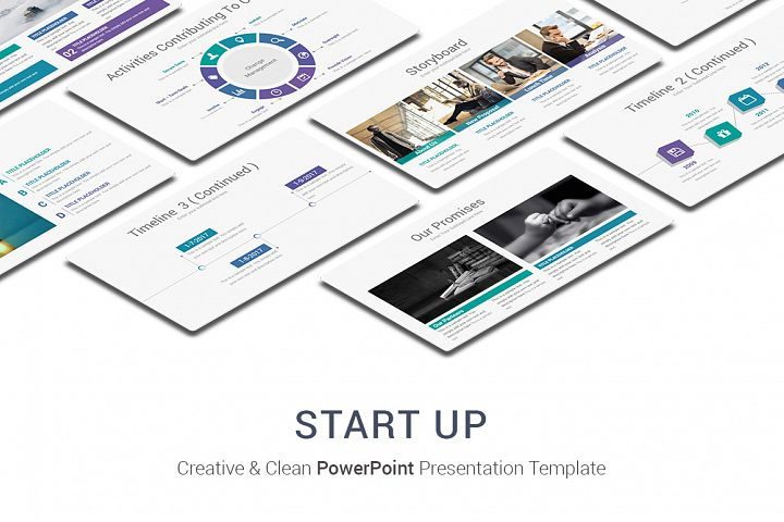 Start-Up PowerPoint Presentation Template