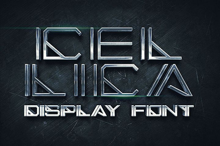 Cellica - Display Font