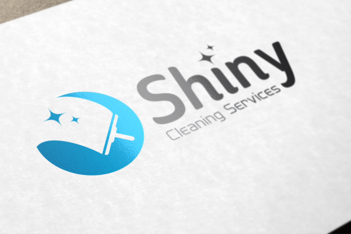 Shiny Cleaning Services Logo - SK