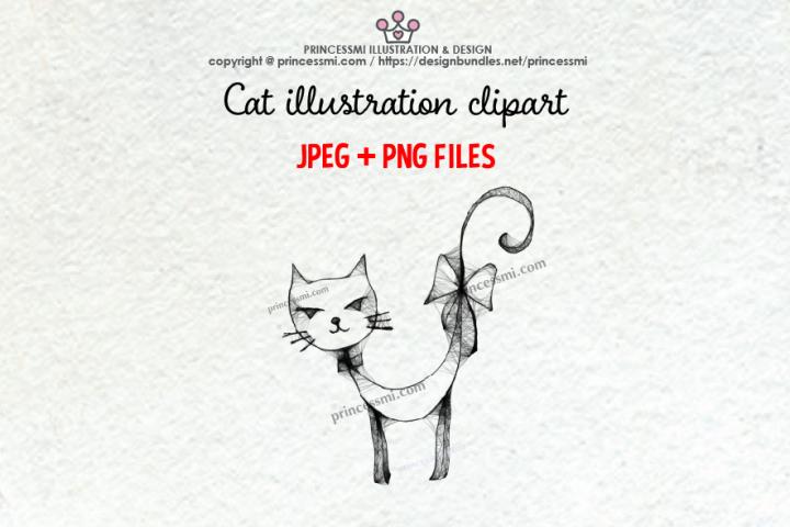 CAT illustration clipart