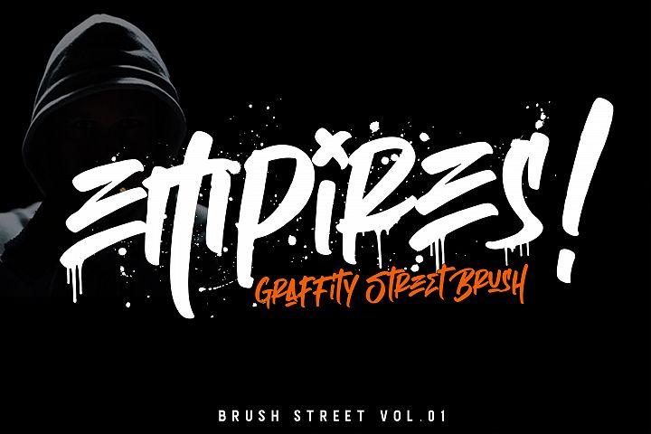 Empires - Graffity Street Brush.Vol 01