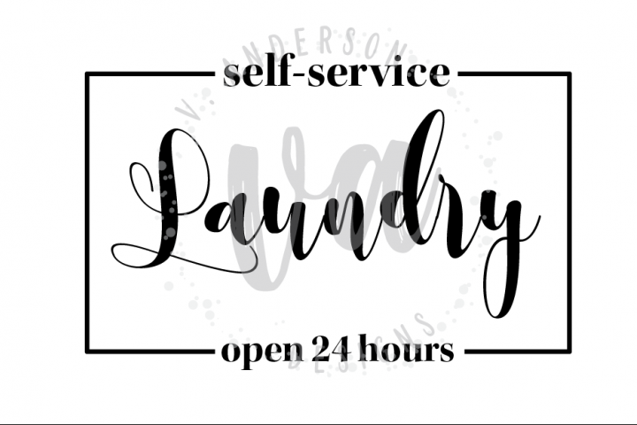 Self Service Laundry SVG