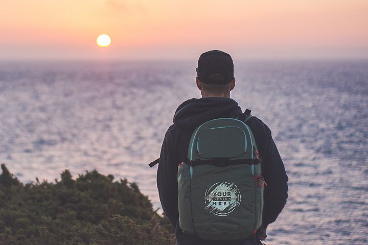 Backpack Mock-up #24