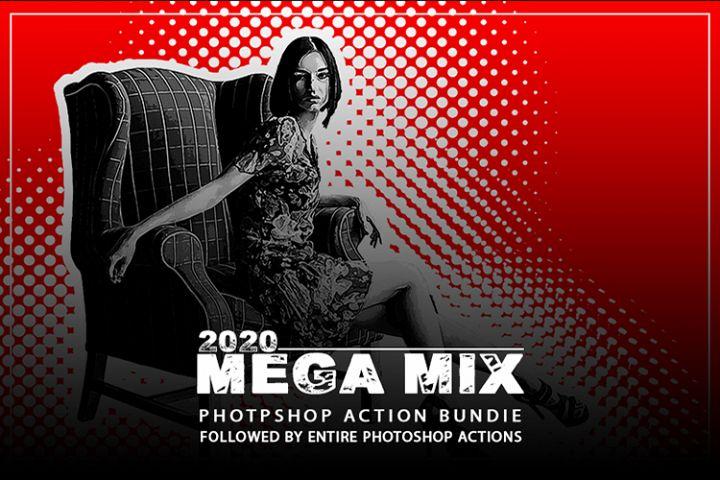 Mega Mix Photoshop Action Bundel