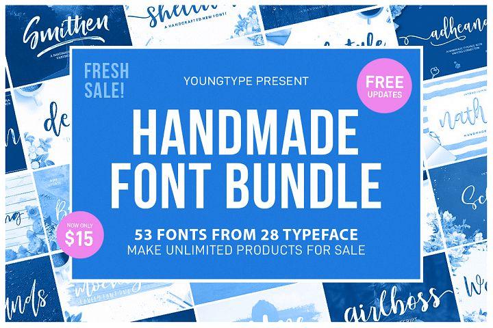 Handmade Font Bundle