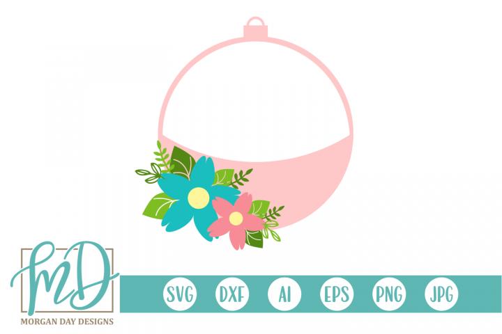 Bobber - Fishing - Birthday - Floral Bobber SVG