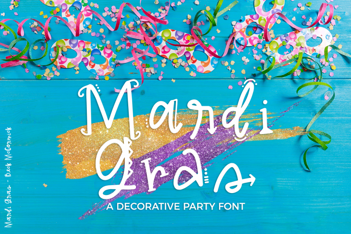 Mardi Gras Party Sans Font