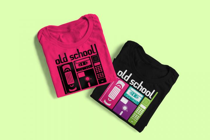 Old School 80s Retro Technology SVG File SVG Design