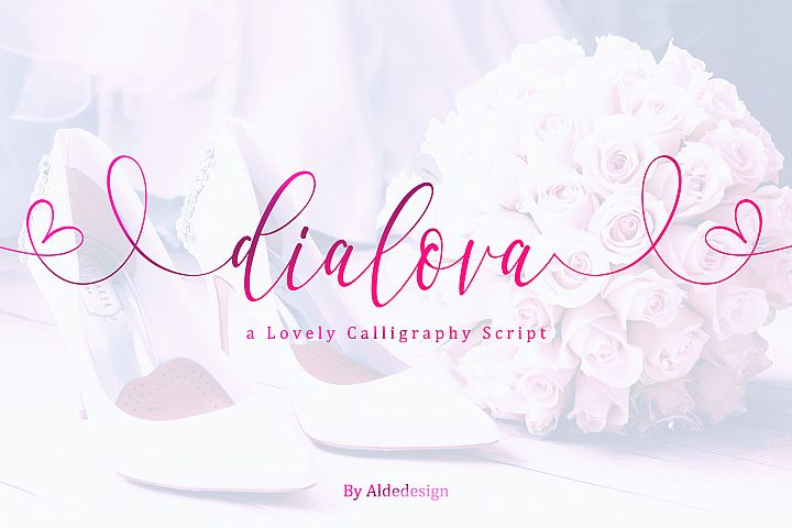 Dialova - Beautiful Calligraphy