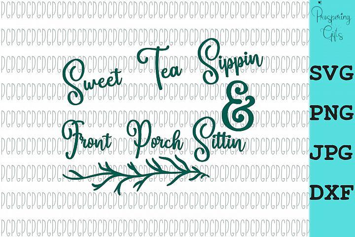 Sweet Tea Sippin