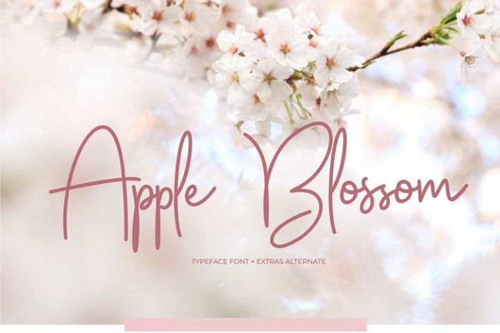 Apple Blossom Font